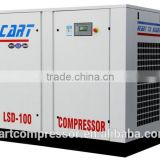 Small air displacement oil free scroll air compressor