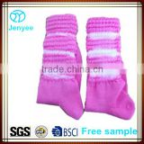 Tie dyed arch support Irish dance poodle socks                                                                         Quality Choice