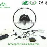 48v/250w electric bike conversion kit ,electric bike parts with brushless motor and Samsung battery