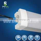 high lumens & easy installation IP65 clear led tri-proof light for packing lots, warehouse, cleaning room, duck shelter