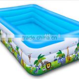 Luxury swimming pool super large inflatable swimming pool adult bathtub thickened version for serveral children with pump