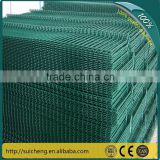 PVC Coated welded wire mesh fence panels in 12 gauge/welded wire mesh fence panels in 12 gauge(Guangzhou Factory)