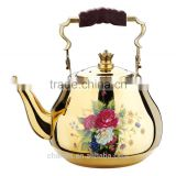 2016 Chuangsheng water kettle stainless steel whistling kettle&chaozhao stainless steel tea kettle & teapot