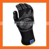 Non Slip Silicone Barbecue Pit Mitt Oven Grill Heat Resistant BBQ Gloves for Fireplace use