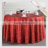 TC-163 Wholesale 100%Polyester Sequin Rosette Satin Table Cloth                                                                         Quality Choice
