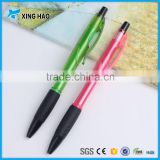 Cheap promotional click plastic ballpoint pen logo printing promotional ball-point pen