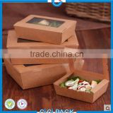 High quality Professional customized food grade paper gift box kraft paper packaging box Wholesale