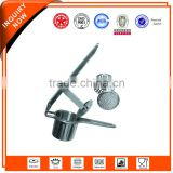 stainless steel potato ricer, potato press, potato masher