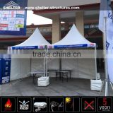Big outdoor umbrella canopy tent with white PVC for event
