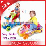 HOT Selling Step Start Walk'n Ride Baby Ride on car baby walker With light&music