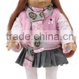 "18""American Girl Doll Reborn Baby Girl In Silicone Vinyl Lifelike american girl doll                                                                         Quality Choice"