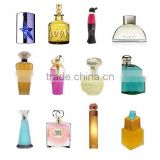 50ml transparent nice glass perfume bottle with acrylic cap