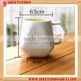 Promotional Custom Designed 350ml Exquisite Ceramic Coffee Cup For Cafe