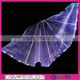 Luminous isis wings led belly dance peacock belly dance wings