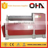 """ OHA "" Brand W12 -20x2000 four-roller Hydraulic bending machine,CN rolling machine, iron steel plate bending machine"