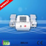 4D lipolaser System Body Slimming laser Lipolysis Equipment with 4 wavelength 528 diodes