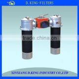 flange and thread 1300L/min duplex oil filter