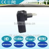 the best small car hidden camera charger for car and truck with night vision cycle video remote control