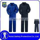 Trade Assurance Suit Overalls Black Navy Mens Work Coveralls