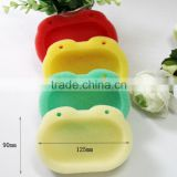 Wholesale custom colorful forg shape sponge box soap dish                                                                                                         Supplier's Choice