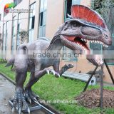 Outdoor real animatronic dinosaur model for sale