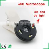 Zoom LED Microscope Magnifier Micro Mobile Phone Lens Camera with Universal Clip For iPhone Samsung HTC Huawei