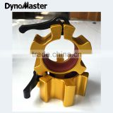 Dynomaster OSO Barbell Clamp /Blue Aluminum Olympic Barbell Collars / Gym Equipment Barbell Collars