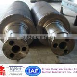 Large diameter heavy duty alloy steel forging shaft/ 8 tons per piece/high precision of surface