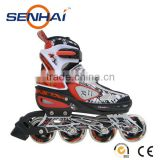 Senhai Inline Skate Wheels 80mm PW-152M Adult Inline Skate Inline Roller Skate Shoes Outdoor Sports Flashing Roller Sports Fitne