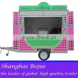 2015 hot sales best quality high-speed food cart tri-axles food cart china mobile food cart