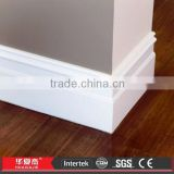 PVC Base Trim Molding Vinyl Cabinet Skirting Board                                                                         Quality Choice