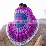 Mandala Roundie Towel wholesale Tapestry Round Beach Throw Yoga Mat Bohemian Boho Ethnic Home Deocr Roundie Round Mandala