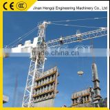 Jinan made QTG315-3883 CE&ISO 3T cheap inner climbing topkit tower crane new control