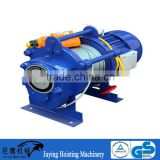 AC 380v 3 phase KCD type cable pulling winch machine