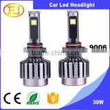 high power auto led brake light bulbs 12v 9006 COB car led headlight