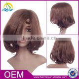 Wholesale cheap dark brown synthetic dreadlocks hair wig monofilament lace front wig