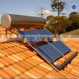 high efficiency intergrated pressured solar hot water heater with advanced manufacturing equipment