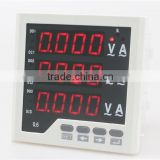 3UI33 panel size 96*96 low price led ac industrial usage digital display volt ampere 3 phase combined meter