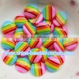 Hottest lovely Sparking 10mm Flat Round Solid Color Resin Beads no Hole Art Craft Making