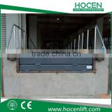 Used Logistics Storage Electric Lifting Adjustable Height Hydraulic Container Loading Ramp Suzhou