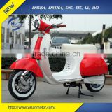 EEC 1500W vintage Vespa Electric Scooters with 72V 20Ah battery adult electric motorcycle for sale