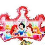 Princess Tiara Pinata -Cinderella Snow white Sleeping Beauty