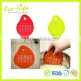 Silicone Bowl Scraper Muticolor Random Cream Measuring Unit Conversion Spatula Pot Pan Cleaning Baking Kitchen Tool