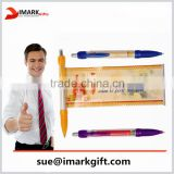 banner pen promotional logo printed with roll out paper