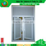 Casement Shutter Window Design Hot Selling Awning Window Double Leaf PVC Window and Doors