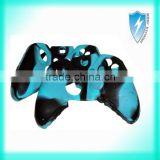 Soft Silicone Gel Rubber Case Skin Grip Protecting Cover For Xbox One Controller-Camouflage Color