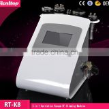 Kim 8 Slimming System 5 In 1 40khz Ultrasonic Cavitation Weight Loss Machine Liposuction Explosive Speed Grease Cavitation Beauty Machine With RF Vacuum Ultrasonic Cavitation Body Sculpting