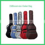 "hot selling and best price colorful waterproof 41"" guitar bag"