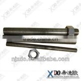 steel a286 full thread of stud bolt u bolts for pipe hex bolt hex nuts