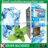 Quality automatic ice vending machines With Auto Bagging and Sealing Function